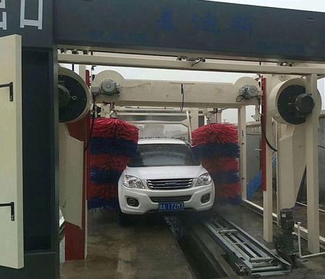 周口鹿邑中亚石化加油站安装案例